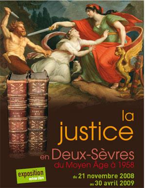 La justice en Deux-Sèvres