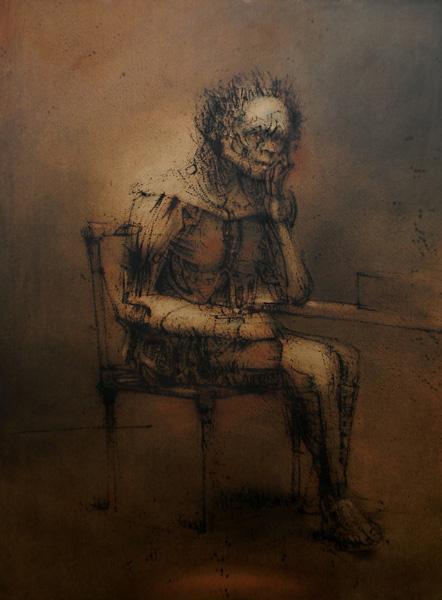 Exposition.  Alain Richard à la Galerie de Lola.